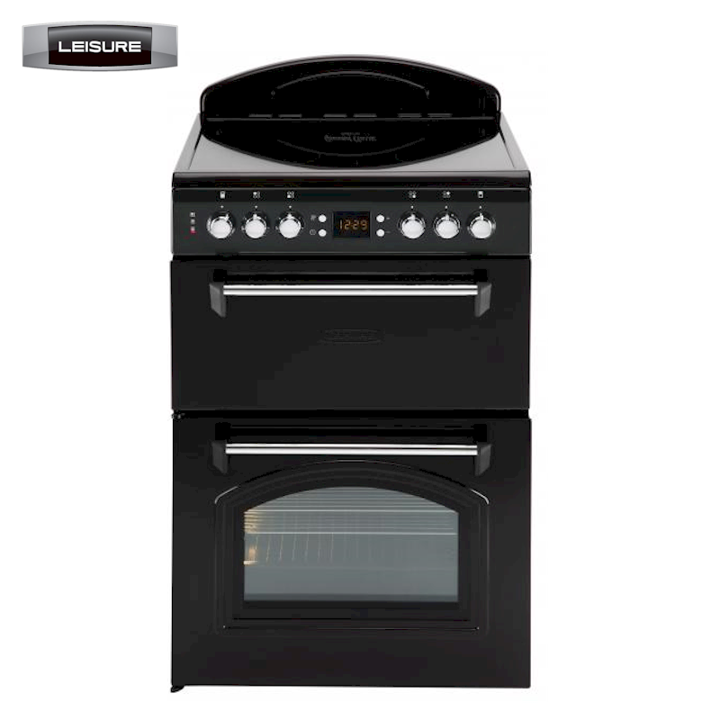 Ceramic Cookers Leisure 60cm Classic Cooker In Black